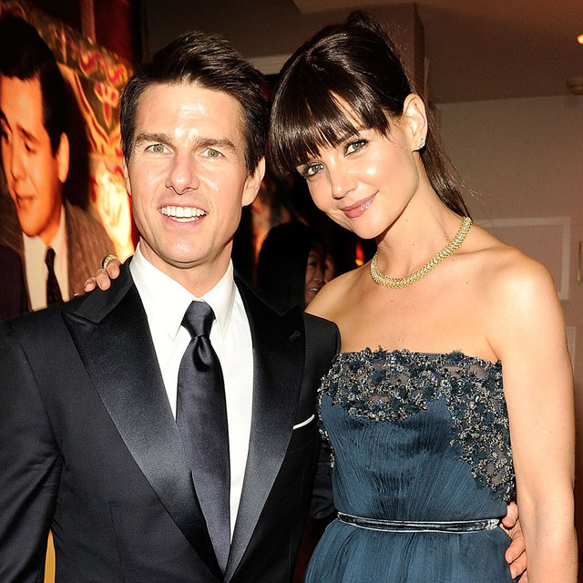 Tom Cruise and Katie Holmes Fringe Pictures at 2012 Vanity Fair Oscars Party