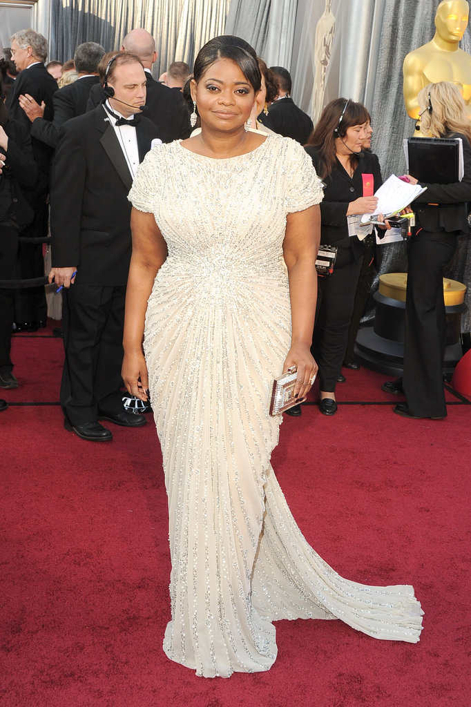 Octavia Spencer on the Oscars Red Carpet