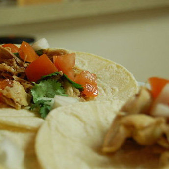 Chipotle Chicken Tacos