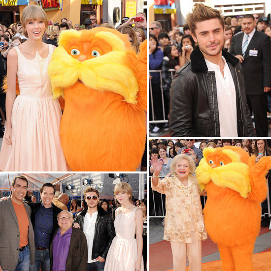 Taylor, Zac, Ed and More Premiere The Lorax in Sunny LA