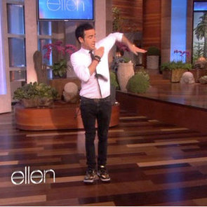 Justin Theroux Breakdancing Video on Ellen DeGeneres
