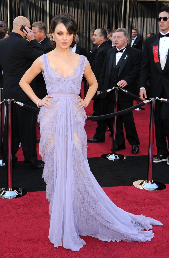 Mila Kunis at the 2011 Academy Awards