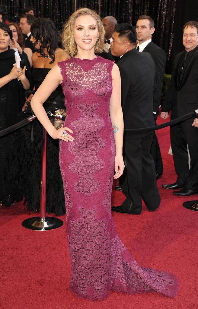 Scarlett at the 2011 Academy Awards