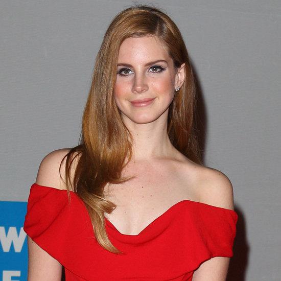 Lana Del Rey at the 2012 BRIT Awards