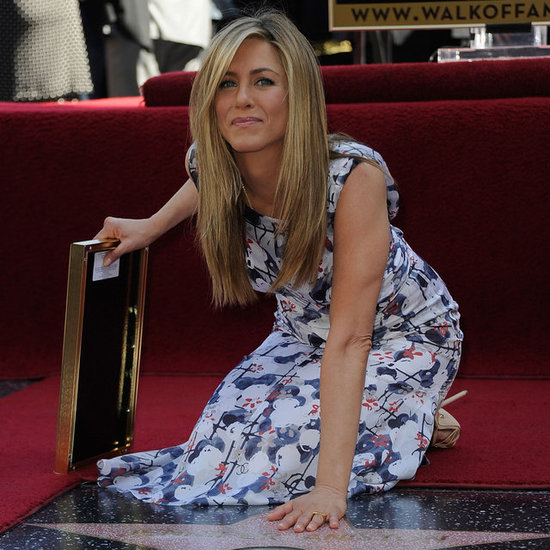 Jennifer Aniston Walk of Fame Pictures