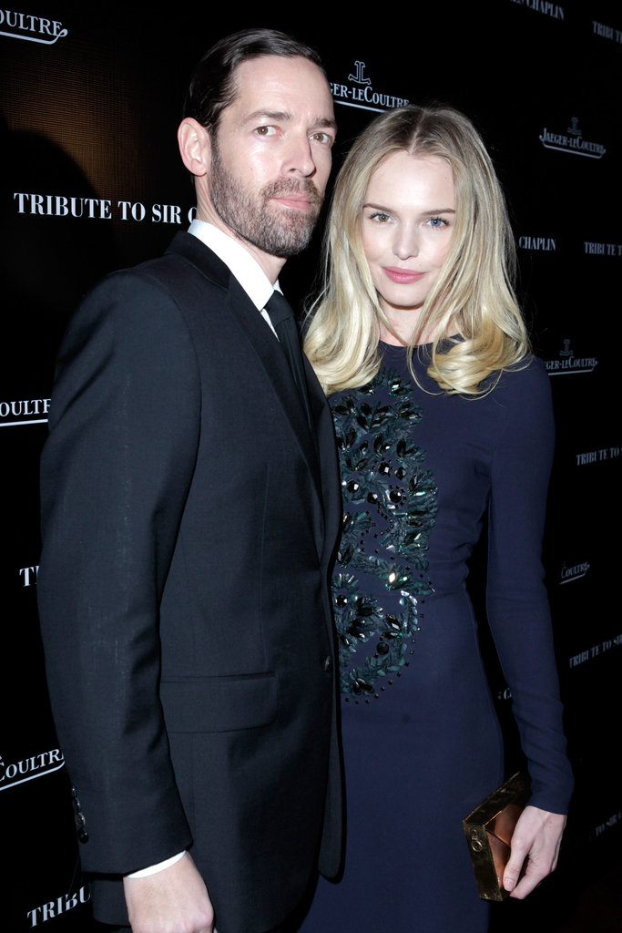 Kate Bosworth cozied up to Michael Polish.