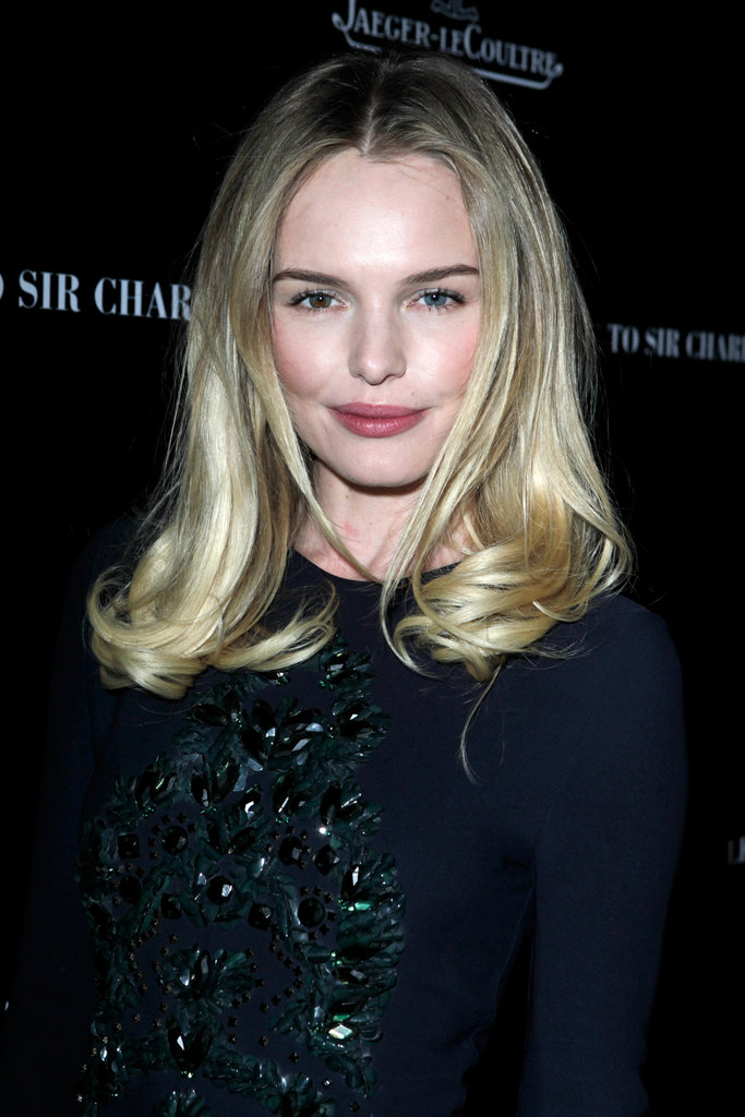 Kate Bosworth wore a blue dress.