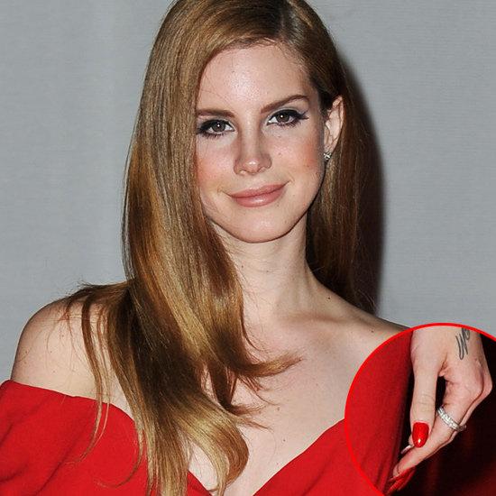 Lana Del Rey's Hair and Makeup at the 2012 Brit Awards