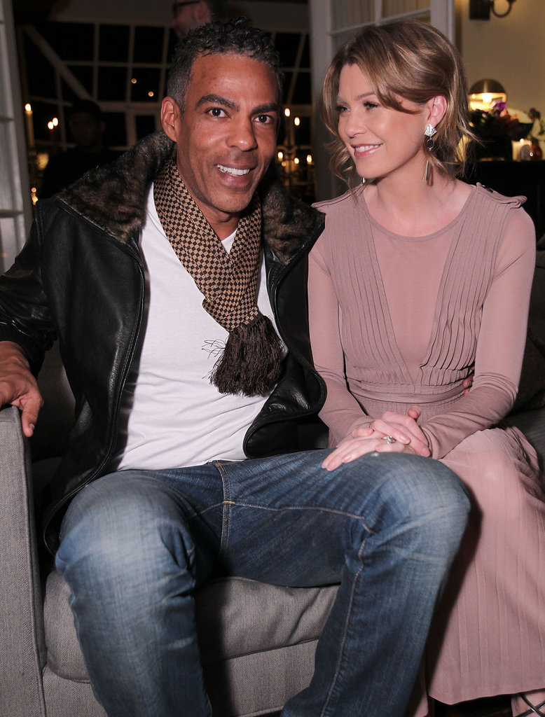 Ellen Pompeo and Chris Ivery hung out  a party thrown by Target and Bevy Smith honor Pharrell Williams.
