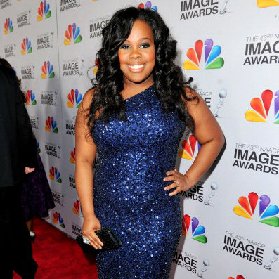 Glee's Amber Riley Dropped Two Dress Sizes