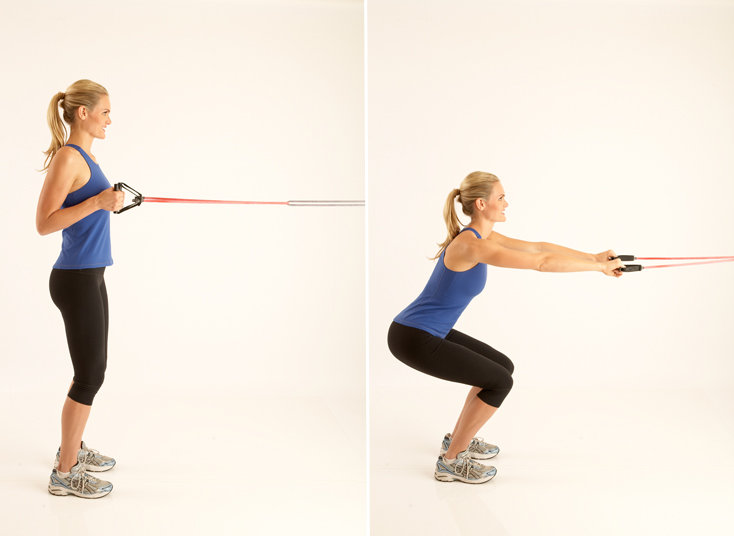 Squat and Row