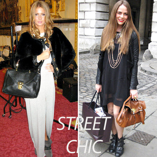 Street Style Trends Mulberry Bags at London Fashion Week