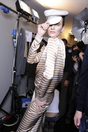 Milan Fashion Week Fall 2012 Backstage
