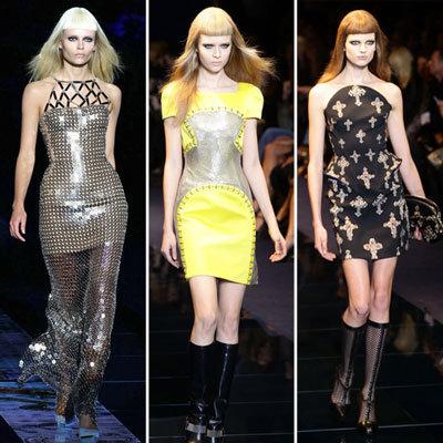 Versace Runway Fall 2012