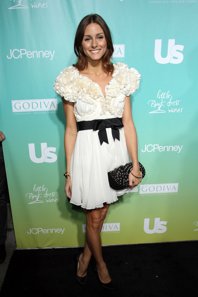 A sweet bow-tied LWD for US Weekly's 25 Most Stylish New Yorkers party in 2010.