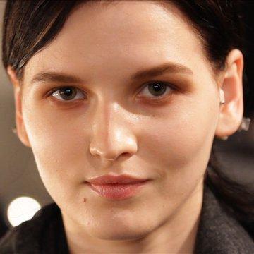 Makeup at Proenza Schouler Fall 2012