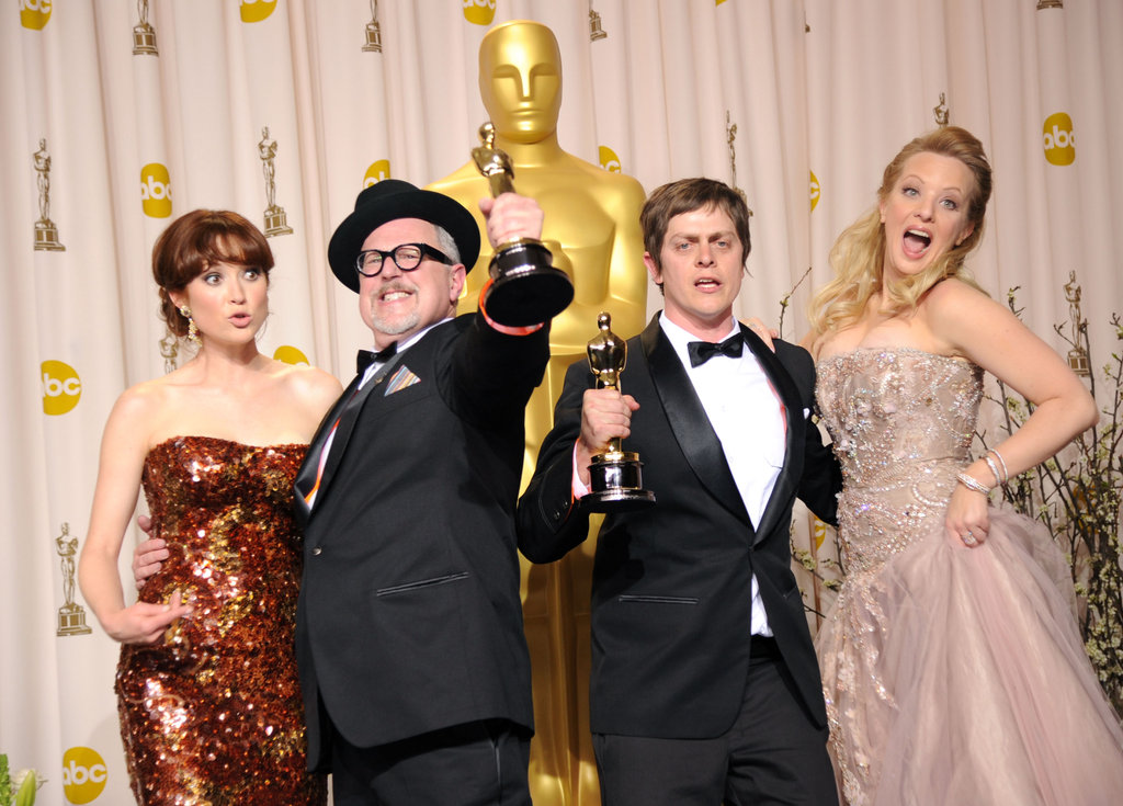 Ellie Kemper, William Joyce, Brandon Oldenburg and Wendi McLendon-Covey