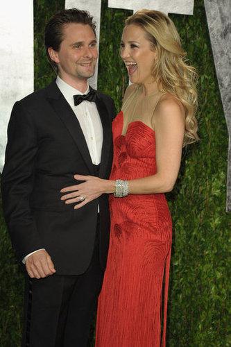Kate Hudson gets giddy with her man Matt.