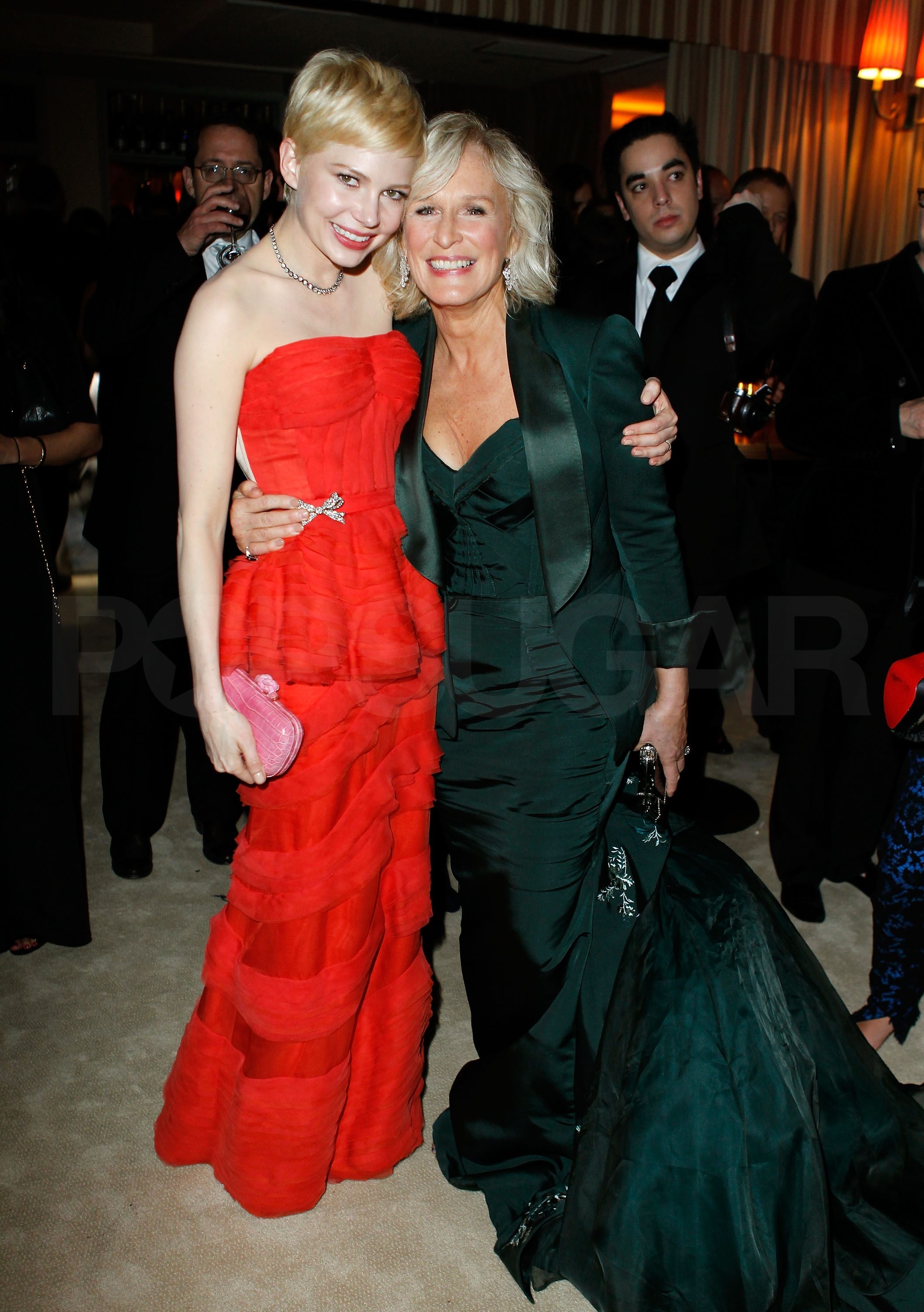 Michelle Williams, Glen Close
