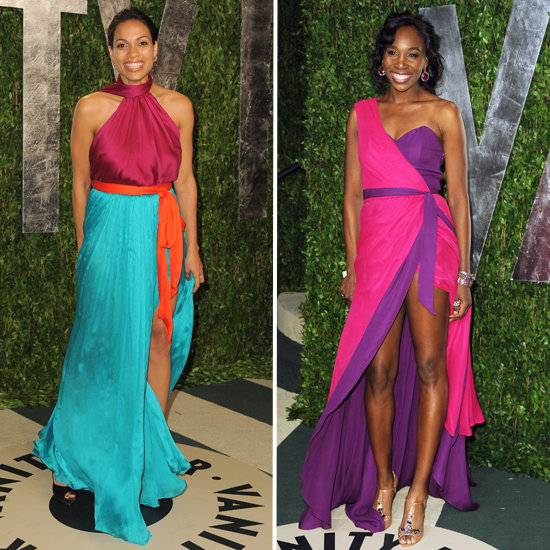 Venus Williams at Vanity Fair Party