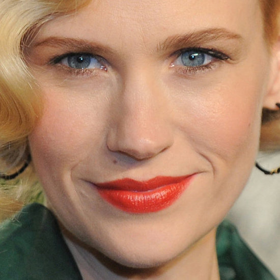 January Jones: Her Oscars Makeup