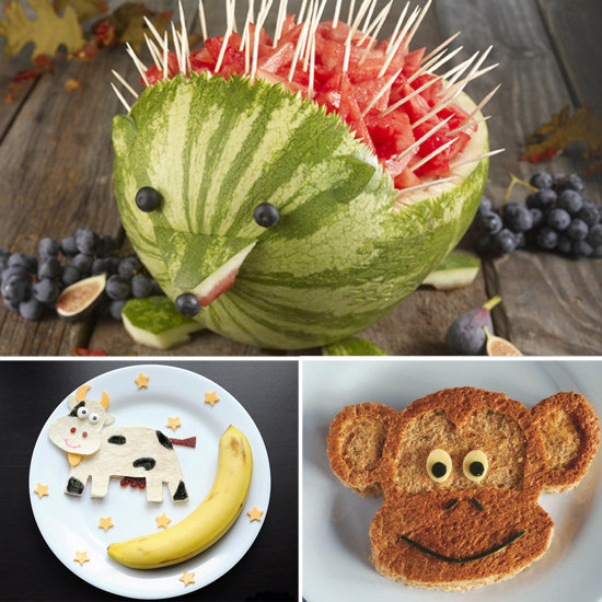 Play With Your Food! Fun, Adorable, and Healthy Snack Ideas For Kids