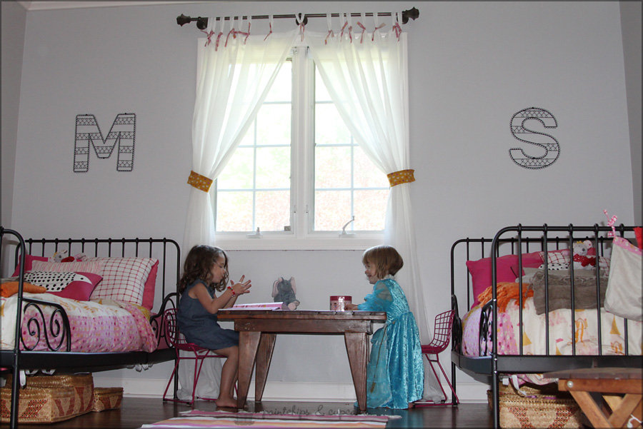 A Room Built For a Princess . . . Or Two!