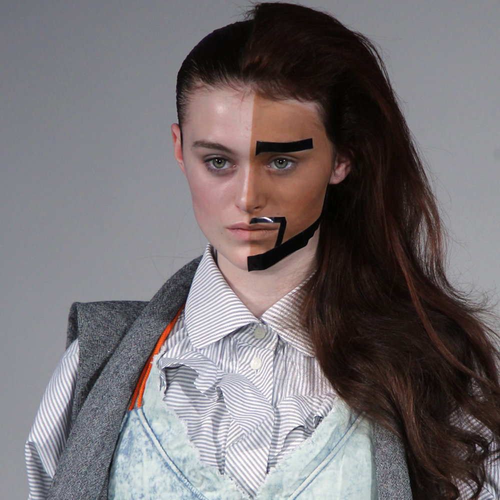 Bernhard willhelm does some serious gender bending at paris fashion week popsugar beauty australia - Bernard wilhelm ...