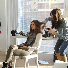 Behind the Scenes at Olivia Palermo's Grazia Shoot