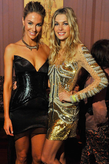 Celebrity Style Front Row at the Myer Autumn Winter 2012 Collection Launch: Jennifer Hawkins, Jessica Hart, Rebecca Judd & more!