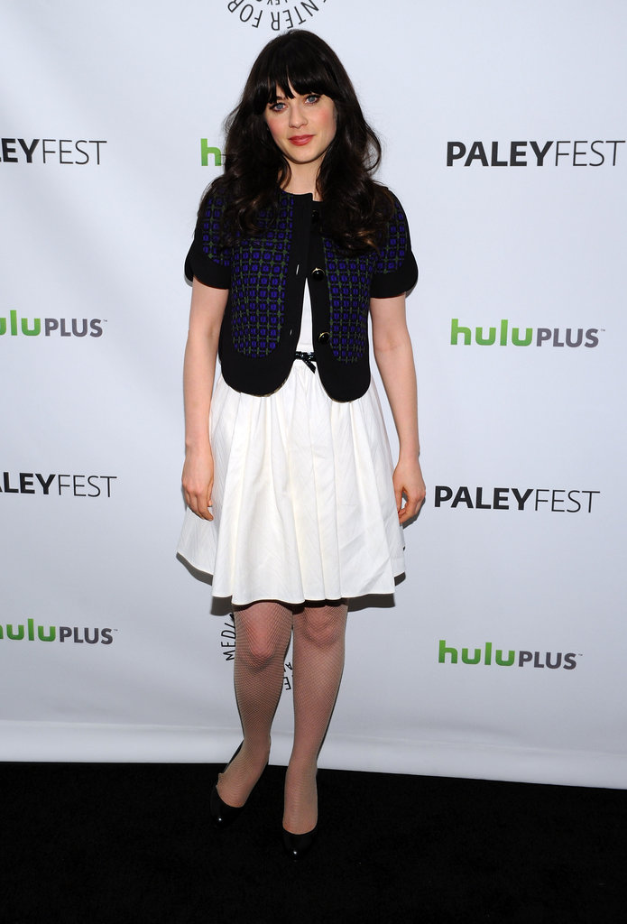 Zooey Deschanel said she's excited to get some rest when the first season wraps.