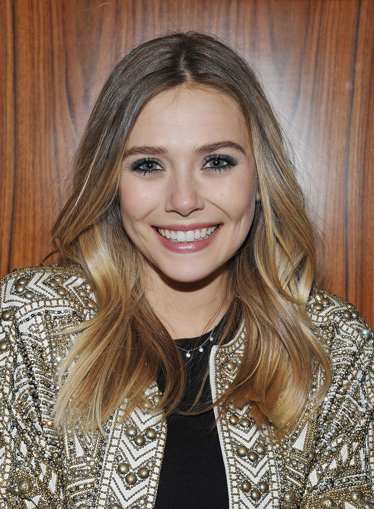 Elizabeth Olsen went to the Silent House party.