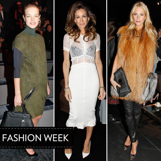 SJP, Natalia, and More Join the Front-Row Fashion Crowd at PFW