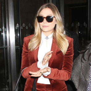 Elizabeth Olsen Wears The Row on the Today Show