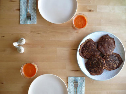 Orange + Carrot Pancakes