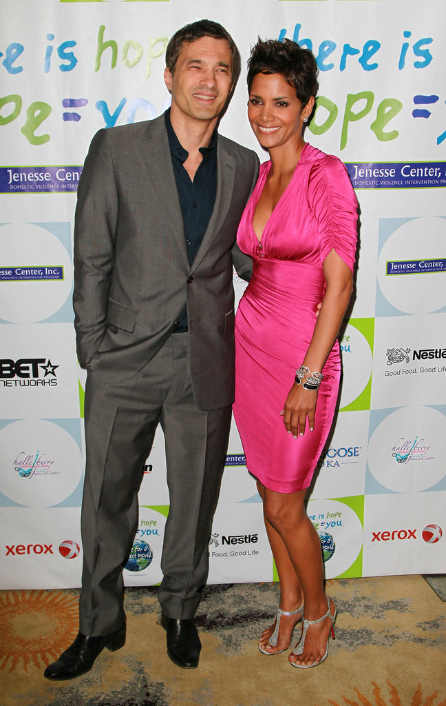 Halle Berry and Olivier Martinez checked out the Jenesse Silver Rose Auction and Gala in LA in April 2011.