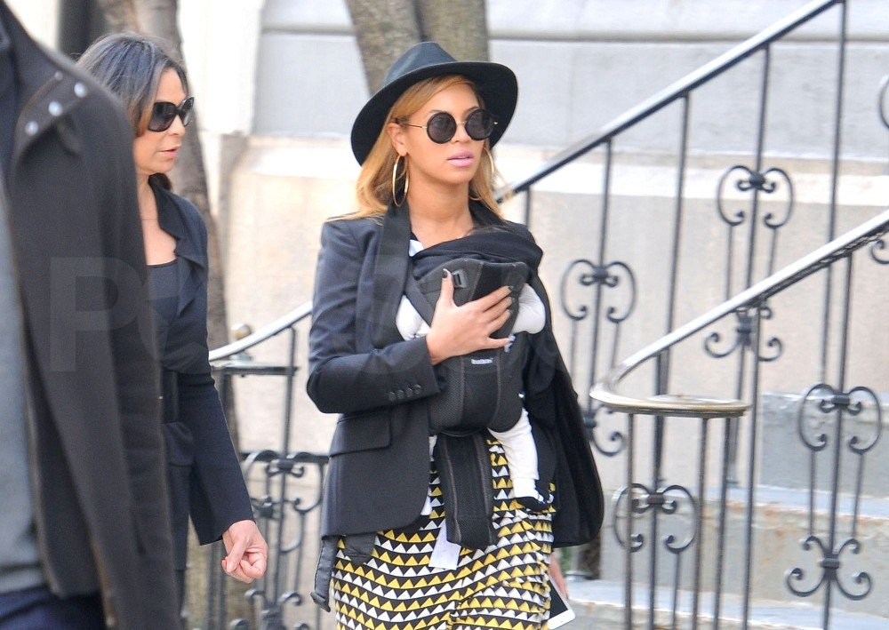 Beyoncé Knowles hung out in NYC with Blue Ivy Carter.