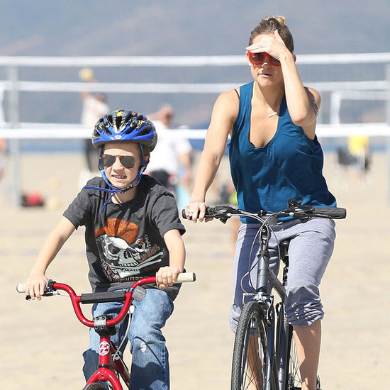 Kate Hudson Riding Bike Pictures With Goldie, Ryder, Kurt