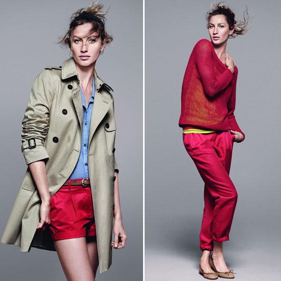 Gisele Bundchen Esprit Ad Campaign 2012