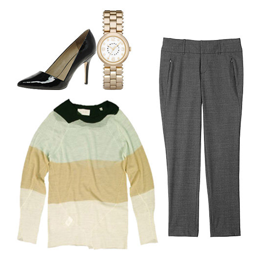How to Wear Sheer Stripes