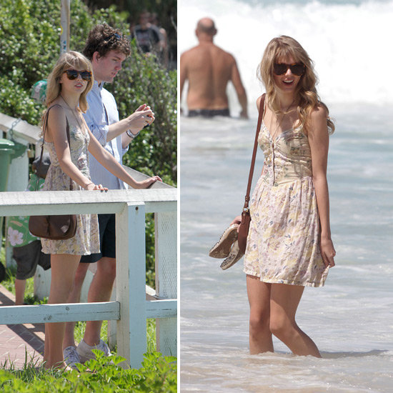 Taylor Swift Cools Down at Bondi Beach With Her Brother Between Sydney Shows