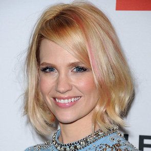 Mad Men's January Jones Dyes Her Hair Pink