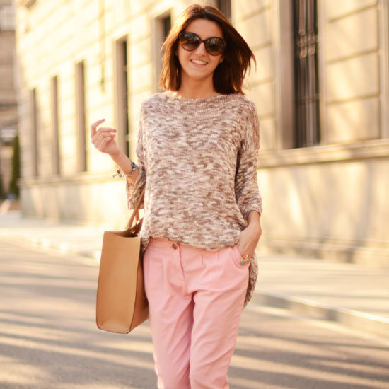 Street-Style Pictures Pastels