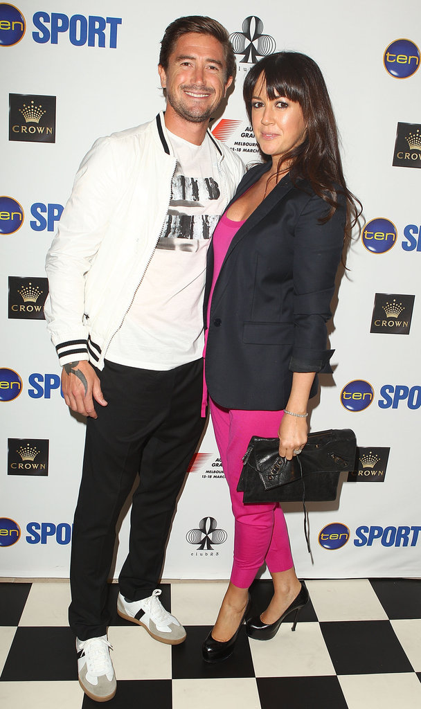Harry Kewell and Sheree Murphy
