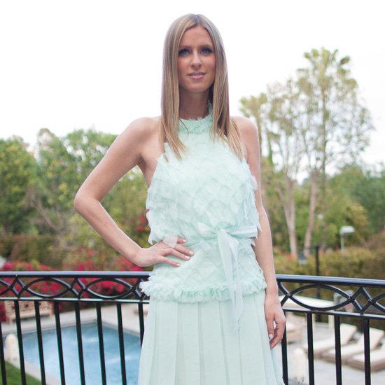 Nicky Hilton Mint Dress