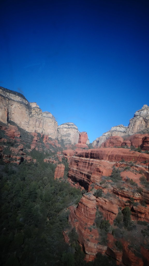 Red Rock Canyons in Toy Camera