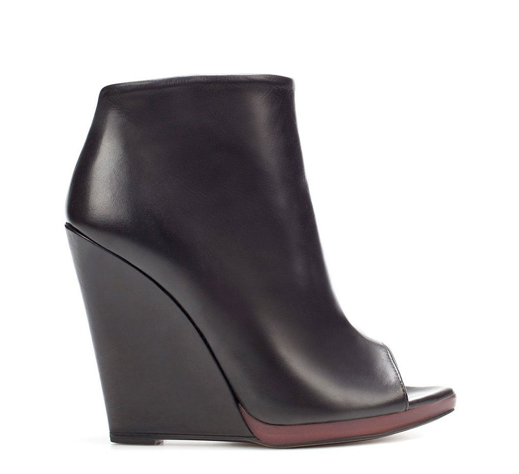 A sleek, classic pair that will carry you through Spring. Zara ankle bootie ($100)