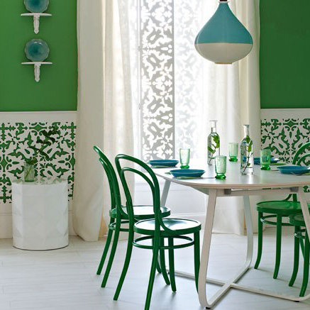 Green Painted Room Pictures