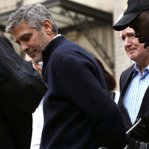 George Clooney Getting Arrested Pictures