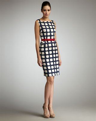 Adrianne Belted Sheath Dress